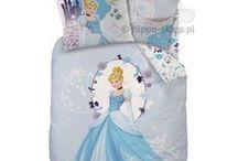 Disney Princess bedding collection and accesories | Księżniczki kolekcja pościeli / Disney Princess bedding collection with princess Ariel, Snowy White, Jasmine, Sofia, Cinderella | Księżniczki kolekcja pościeli z księżniczkami