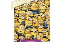 Minions bedding collection | Minionki kolekcja pościeli i akcesoriów / Minions bedding collection and accesories for kids room | Miniomki kolekcja pościeli i akcesoriów dziecięcych