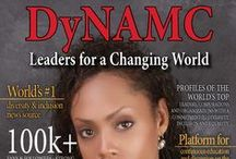 "DyNAMC Magazine / DyNAMC aims to connect our readers to each other and to the organizations and corporations that actively embrace diversity    DyNAMC Leaders for a Changing World Magazine ISSN 2329-7956  DyNAMC Magazine is the recipient of the 2014 APEX Excellence in Publishing Award.   ""DyNAMC"" is nationally and internationally distributed and is available in both digital and print media platforms."