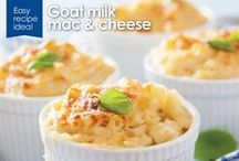 Kabrita Goat Milk Recipes / Healthy and delicious goat milk and cheese recipes that are perfect for those sensitive to regular milk! From goat milk appetizers to dinners using goat milk, Kabrita has you covered!
