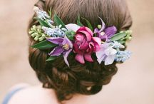 Complementos florales / Tocados y complementos de flores para novias, invitadas y niñas. / Touched and accessories for brides, guests and girls.