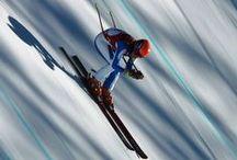 Ski & Snowboard / Wondere winter sport wereld. Lets go skiing! Of toch liever snowboarden?