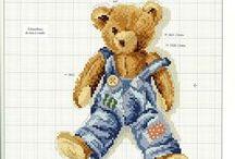 Sticken - Teddys