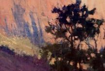 Forest & Trees Plein Air Paintings / Trees and Forests from around the world.
