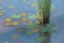 Lakes and Ponds in Plein Air Painting / Watery Places