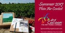 Plein Air Contest - Win Art Supplies! /  There is still time to enter our Summer 2017 Plein Air Contest. We are giving away ten Art Cocoon wet panel painting carriers on July 15.  Enter today at http://myartcocoon.com/shopcart/summer-plein-air-contest-2017/?contest=upload-photo