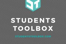 StudentsToolbox.com / StudentsToolbox.com - study tips, organization skills, productivity articles, time management skills, lifestyle and career tips for high school and college students to achieve a successful school life. Articles include: study tips for high school, study tips for college, note-taking skills, college survival tips, time management, productivity planners, college printables, student lifestyle, student fitness tips, Wordpress blogging tips and more.