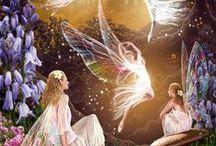 FEERIE / Sorcières-fées-gnomes-elfes-farfadets............