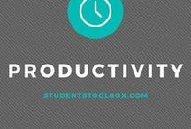 Productivity Tips | College / Productivity Tips | College: productivity, productivity tips, productivity planner, motivation, students, college life, high school
