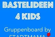 Gruppenboard Bastelideen für Kinder / Bastelideen und DIY Anleitungen für Kinder in jeder Altersgruppe.