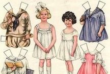 Paper Dolls and games vintage / printable paper dolls and games
