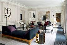 My favorite interiors, designers, decorateurs