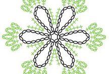 Crochet MOTIF \ Мотивы\ / множество схем мотивов / by Lucy286