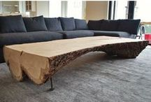CHT_Furniture / Custom tables, cabinetry, and shelves we've made #furniture
