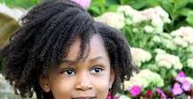 Natural Hair Kids / How to care for and style kids natural hair.