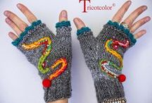 Warmers \ socks, mittens, slippers\ / носки, перчатки, повязки на голову \ neckwarmers, earwarmers, legwarmers, headwarmers, handwarmers / by Lucy286