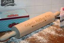 Laser Engraved personalised Baking