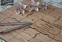 Laser Engraved personalised Wedding / Anniversary