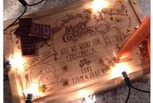 Laser Engraved personalised Christmas items