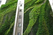 Vertical Garden... / Beautiful Green architecture