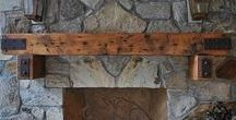 CHT_Beams, Doors, & Mantles / Made by us #custom #reclaimed #handcrafted #timber #beams