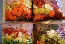Freeze Ahead Meals / Easy meals to prepare and freeze for busy lives.