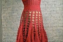 5 - Dresses-part 2 \crocheted & knitted\ / by Lucy286