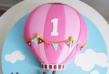 Hot Air Balloon Bday
