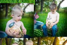 Fourth of July Mini Session / Fourth of July Mini Session, photography, Kristen Richards Photography, children, Needville, TX, watermelon, cokes, and firefly's