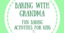Cooking with Kids / Activities and books that inspire families to cook and bake with their kids! #CookingWithKids #BakingWithKids #KidsInTheKitchen