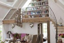 Casa / ambientes + decoração + organização + utilidades