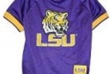 LSU Tigers Dog Sports Apparel