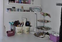 My craftroom - mitt pysselrum / This is my little creating space