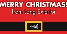 Year Round with Lang / Happy Holidays! - from Lang Exterior, Inc.™