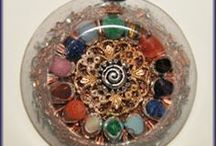 Chakra Amulets Necklaces (Orgone pendants) / Chakra orgone (orgonite) products are designed to help balance, stimulate, clear and align the chakras (energy centers), bringing more vital life force to the physical body.