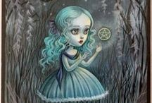 Mab Graves / Some of my favourite pieces by the fabulous pink-haired Pop Surrealist Mab Graves