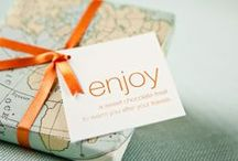 Parcel Design / Inspiring designs, present wrapping ideas and adding the personalised touch