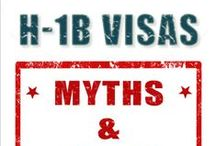 H1B Visa / Foreign professionals in specialty occupations such as engineers, scientists, programmers, accountants, research analysts, management consultants, and others with Bachelor's or equivalent degree can file for H1B visas to work and live in the United States. Find out how to apply for h1b visa, h1b transfer and h1b extension.
