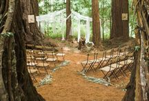 Forest Wedding / A collection of magical, ethereal, fairy-like, rustic, hippy, and natural ideas for a forest wedding.