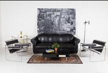 Industrial Loft / Emulate your city scape with salvaged materials and steel pieces. Function and form are welded together to create urban items that will give your home an innovative edge. / by Move Loot