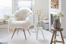 Bright Whites / A dash of neutral, maybe a pop of color: welcome to some of our favorite rooms that start with a white canvas. / by Move Loot