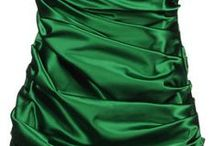 because every bridesmaid's an emerald... / Dresses