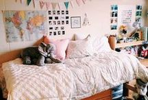 Dorm Style / Headed back to school this fall? Whether you're in a dorm or apartment, you'll need to cover the decor basics for a successful semester. / by Move Loot
