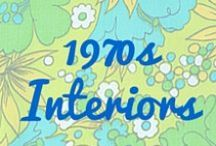1970s Interiors / Fab and funky 1970s interior design inspiration.