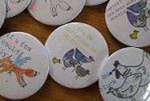 Portfolio Illustrated Badges / JoLB Portfolio of Illustrated Badges
