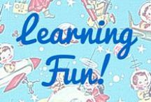 Learning through Fun! / Educational crafts and activities.