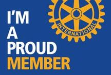 """Rotary / how do we change the world? """"one random act of kindness at a time"""""""