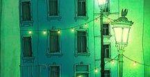 street lanterns