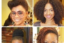 Beautiful black natural hair / Inspirational beautiful natural black hair styles