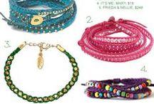 Bracelets / by Gwen